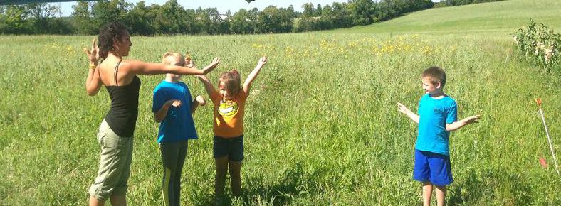 TRACKS Youth Flint Corn Pollination